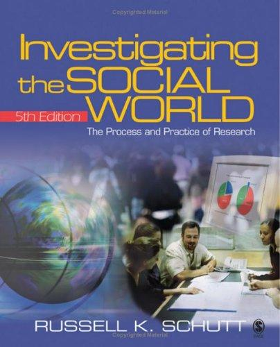 Download Investigating the social world