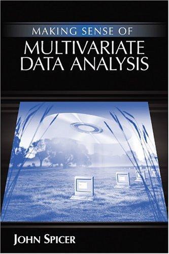 Making Sense of Multivariate Data Analysis