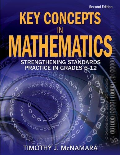 Key Concepts in Mathematics